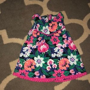 3t Gymboree floral shirt